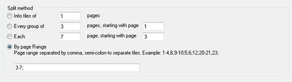 Bước 1 cắt file pdf bằng việc dùng phần mềm Adolix Split and Merge PDF
