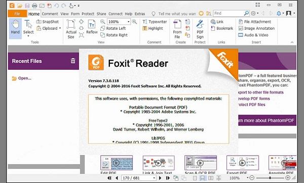 Bước 1 cắt file pdf miễn phí bằng việc sử dụng Foxit Reader