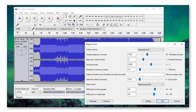 Cắt ghép nhạc online nhanh gọn với Audacity
