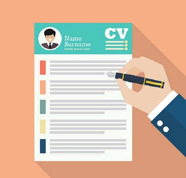 Cách làm CV xin việc trên máy tính