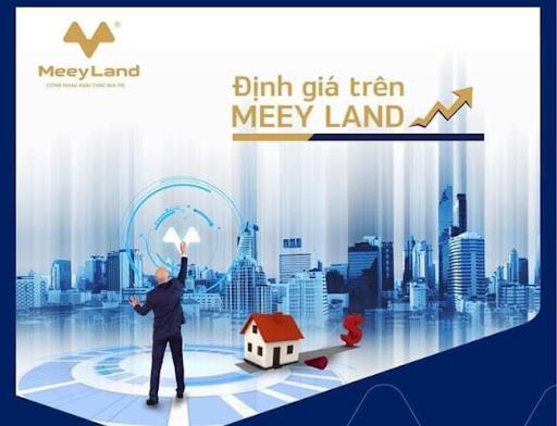 MeeyLand định giá bất động sản tùy vào khu vực, diện tích, cập nhật mức giá sát với thị trường