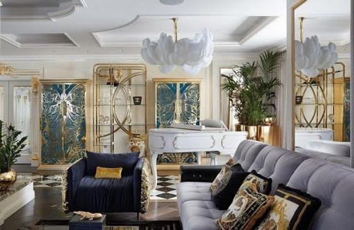 Thiết kế nhà biệt thự theo phong cách tân cổ điển vừa sang quý vừa đề cao tính tiện ích của nội thất