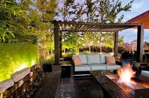"""Một không gian rất """"chill"""" trong thiết kế nhà biệt thự sinh thái"""
