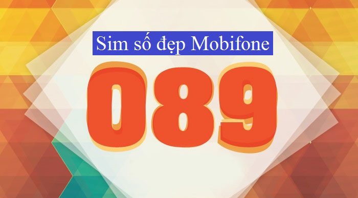 Đầu số 089 do nhà mạng Mobifone phát hành