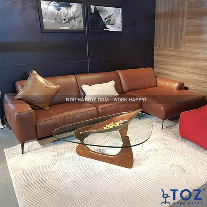 Sofa da cao cấp tại nội thất TOZ