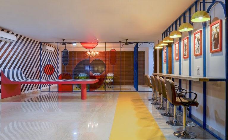 Mẫu thiết kế văn phòng năng động, đảm bảo ánh sáng đầy đủ
