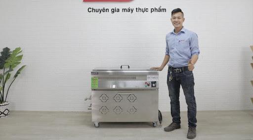 Bếp chiên tách dầu sử dụng điện NEWSUN